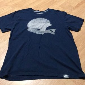 Nike Penn State men's tee shirt size large blue